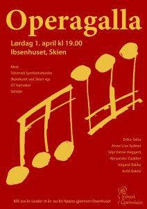 Telemark symfoniorkester - Operagalla 1. april 2017