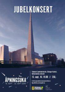 Jubelkonsert Nye Østre Porsgrunn kirke søndag 15. september kl. 19.00.