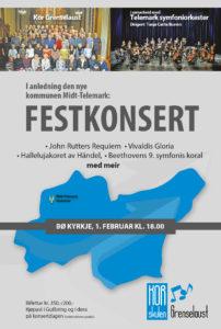 Festkonsert Bø kirke lørdag 1. februar kl. 18.00