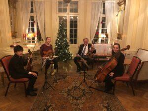 Julehilsen fra ungdomskvartett i TSO🎄